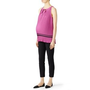 Rosie Pope Darcy Maternity Blouse Tank Top M